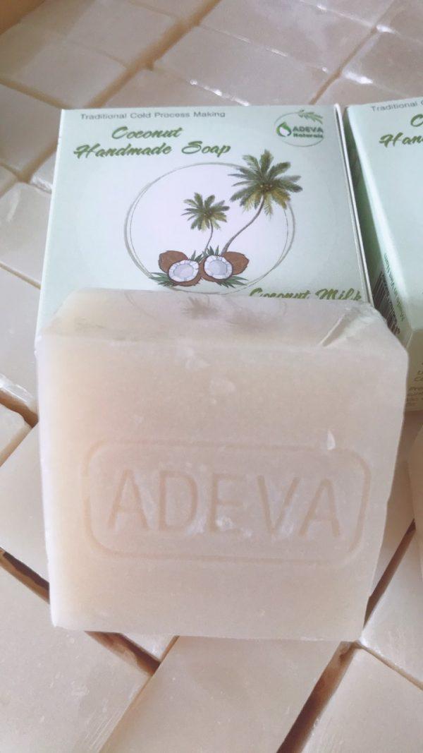 xà bông sữa dừa 0